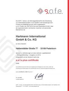 safe plus Hartmann Halberstädterstr 2015 SU